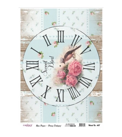 Papel de Arroz RELOJ SWEET...